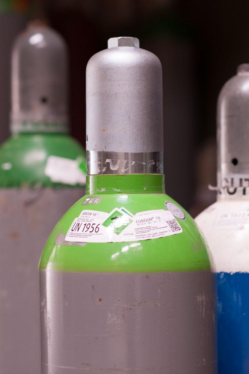 Das Flaschengas-Sortiment von Eisen-Astner