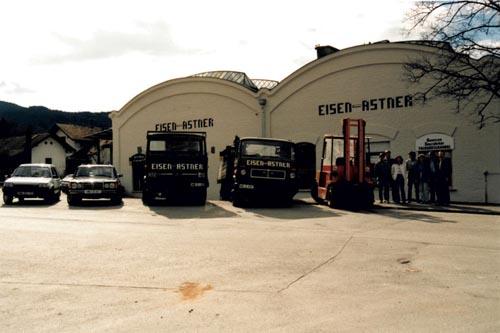 Eisen Astner - LKW im Jahr 1982