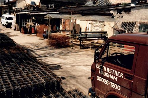 Eisen Astner - Unser Fuhrpark im Jahr 1986